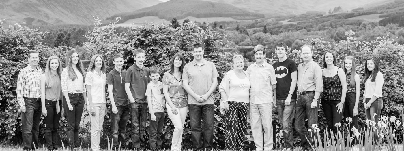 Crieff Photography   McGowan Family Photoshoot