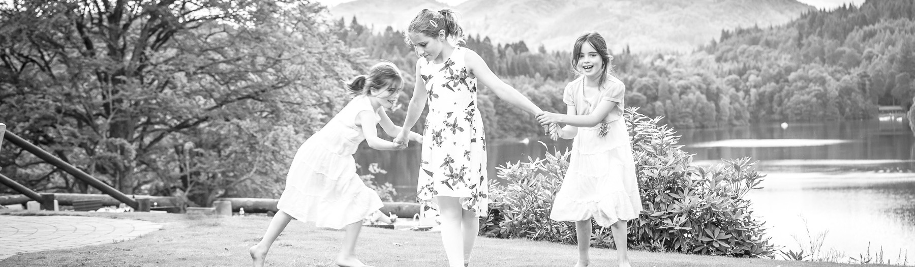 Webber Family at Fonab Castle | Perthshire Photography