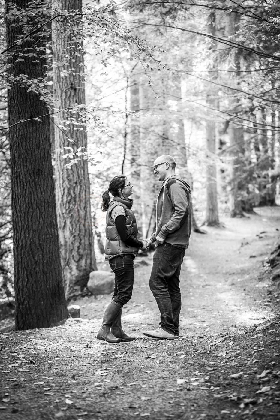 Perthshire wedding photographer | Tania & Jamie's pre-wedding 'shoot
