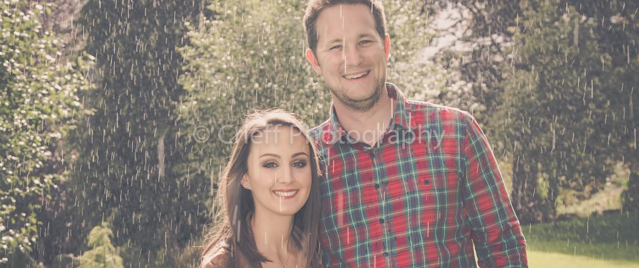 Danielle & Nick's pre-wedding 'shoot | Lands of Loyal  Perthshire