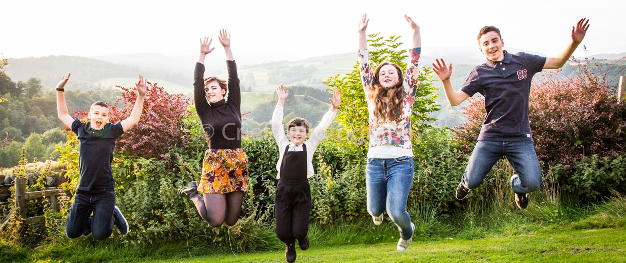 Forsyth family at the Hydro | Crieff Hydro photography