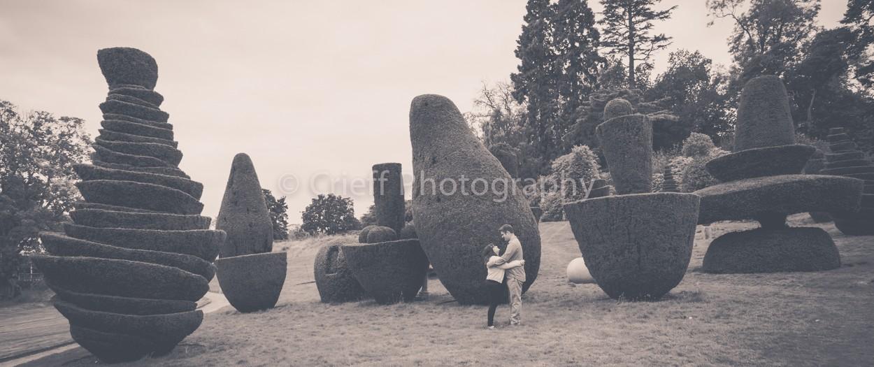Kate & Alex's pre-wedding 'shoot | Fingask Castle