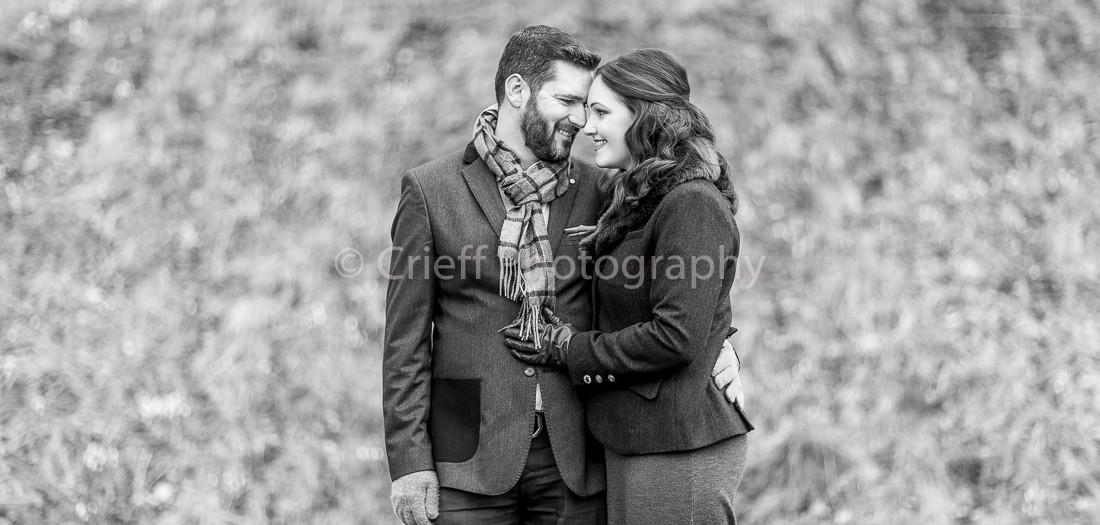 Christine & Jon's pre-wedding shoot |Royal College of Physicians of Edinburgh weddings | Queen Street Gardens Edinburgh