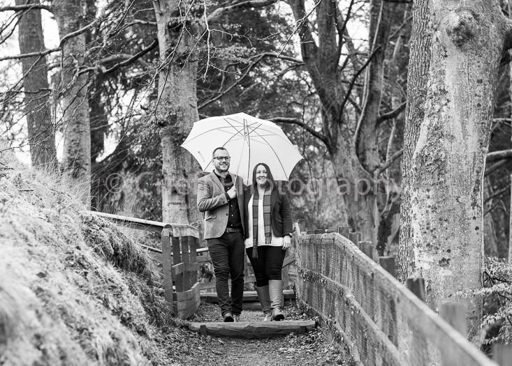 Jemma & Mathew pre-wedding photoshoot | Fonab Castle photos | Crieff Photography