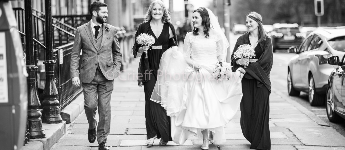 Christine & Jon's wedding | Edinburgh wedding photography | Crieff Photography