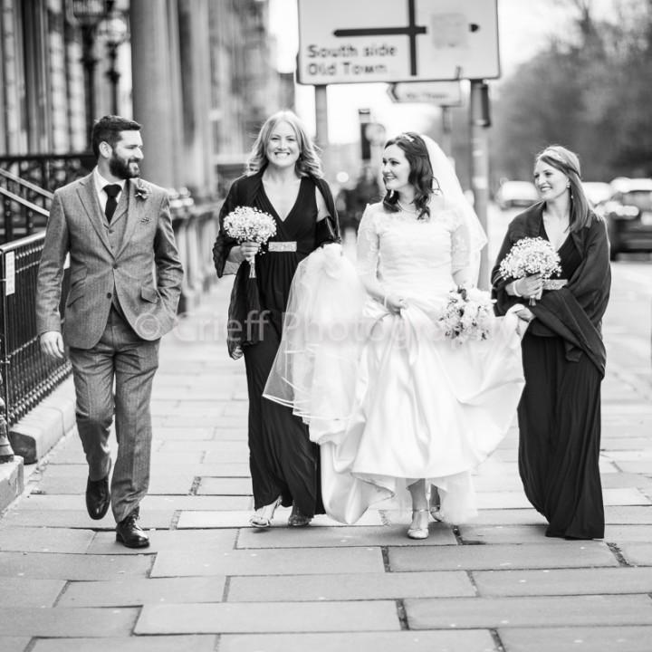 Christine & Jon's wedding   Edinburgh wedding photography   Crieff Photography