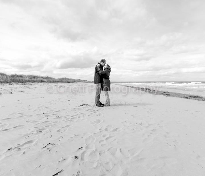 Laurie & Mathew's pre-wedding photoshoot   St. Andrews wedding photography   Crieff Photography