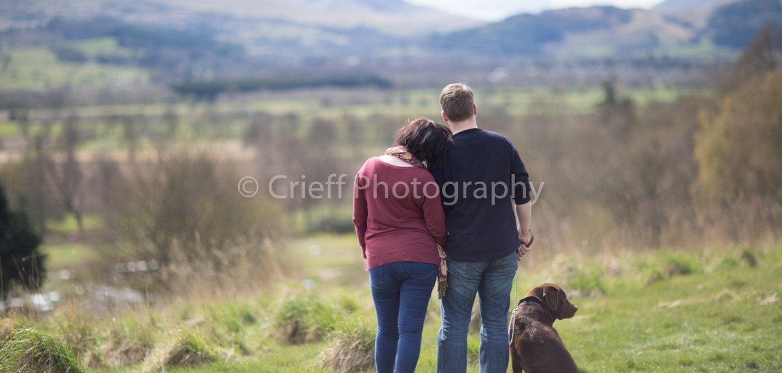 Roisin & Karl's pre-wedding 'shoot at Comrie Croft | Comrie Croft wedding photography | Crieff Photography at Comrie Croft