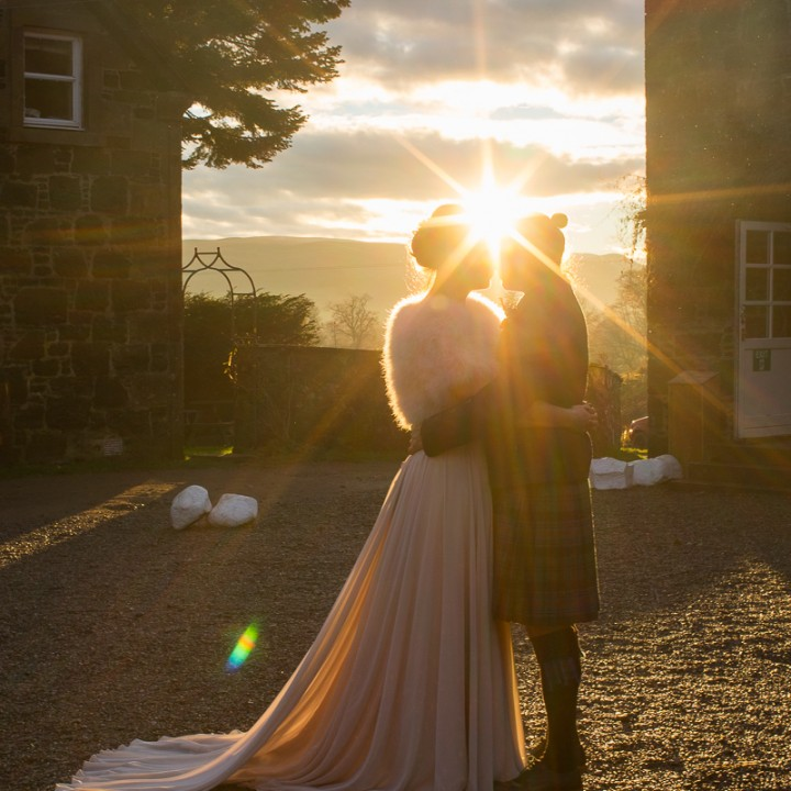 Comrie Croft wedding photographer | Phil & Annalie's wedding