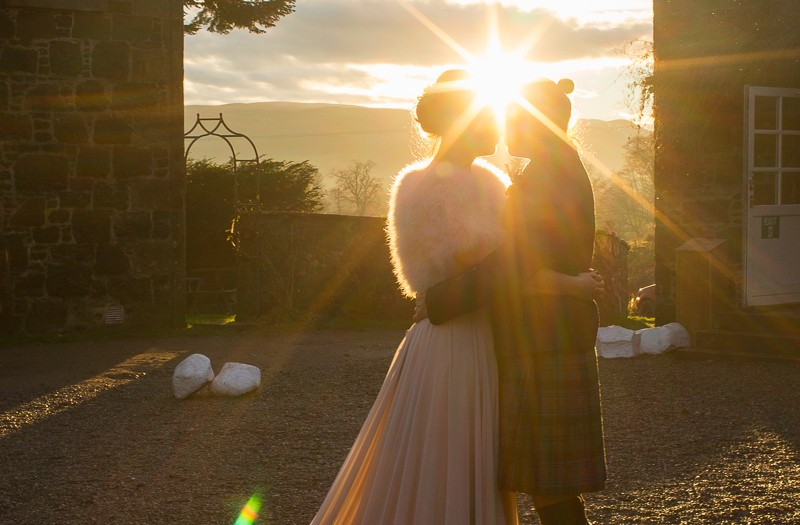 Comrie Croft wedding photography