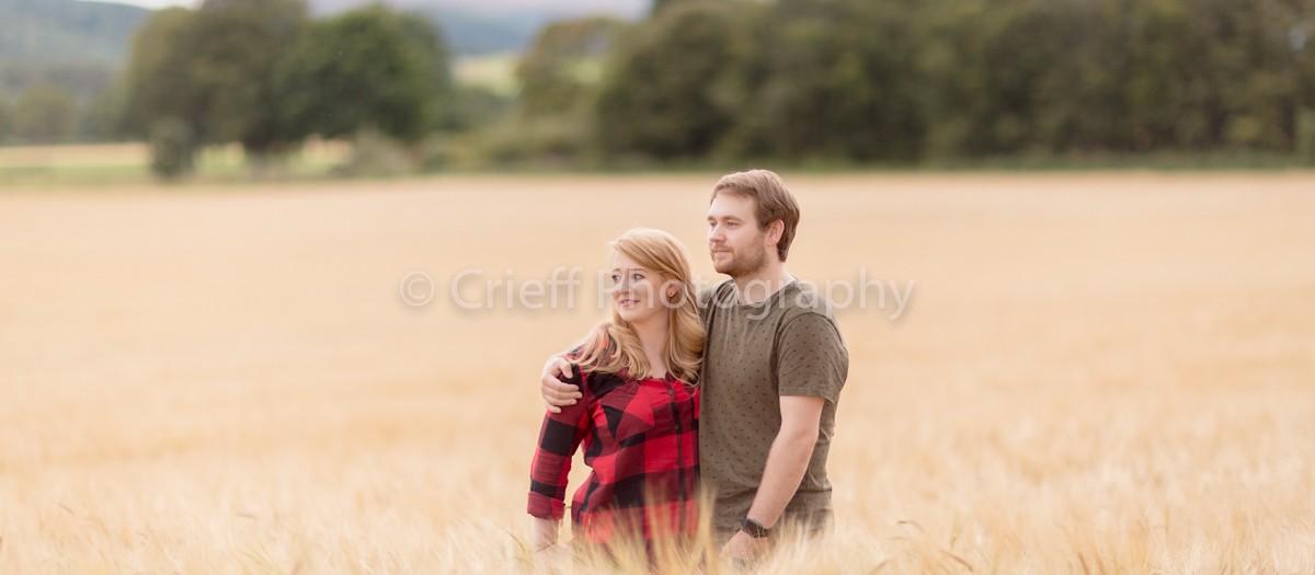 Lindsay & Ryan's pre-wedding 'shoot - Comrie Croft wedding photography
