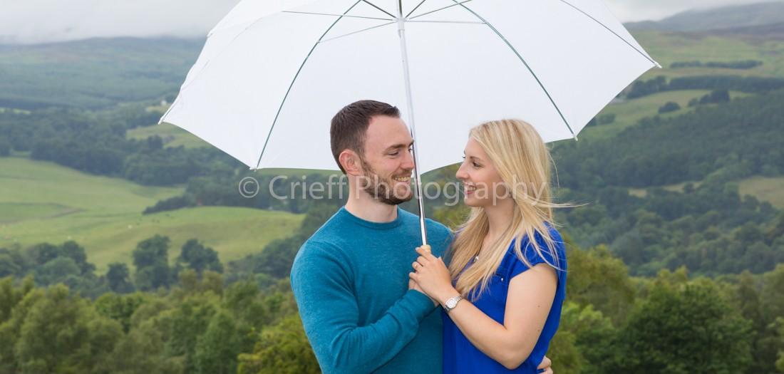 Fiona & Jordan's pre-wedding 'shoot at Crieff Hydro