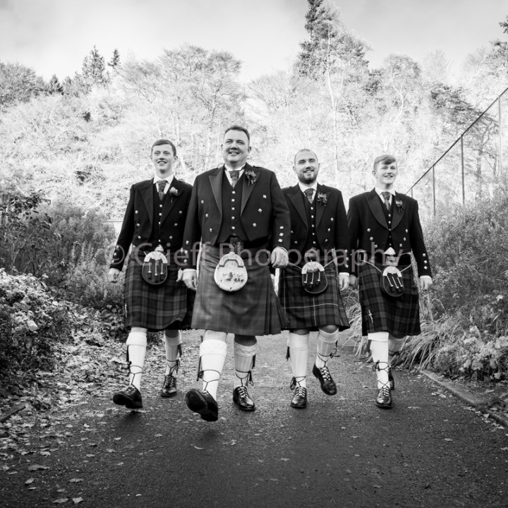 Crieff Hydro wedding photographer | Debs & Andy's wedding at Crieff Hydro