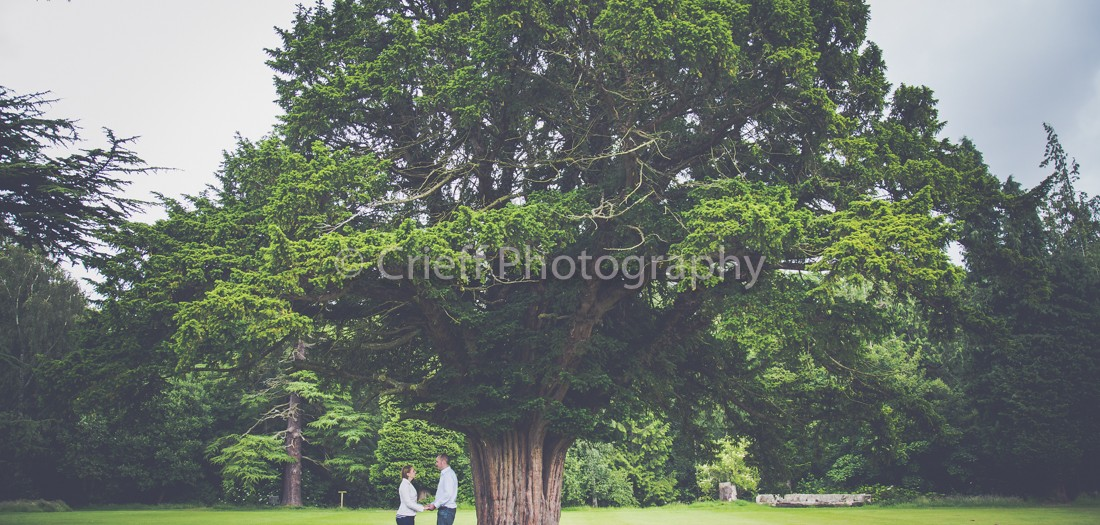 Dalhousie Castle pre-wedding 'shoot