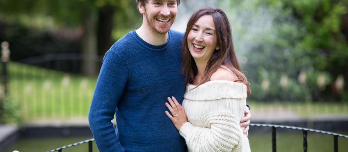 Jess & Jamie's pre-wedding 'shoot at Lands of Loyal - Perthshire wedding photographer