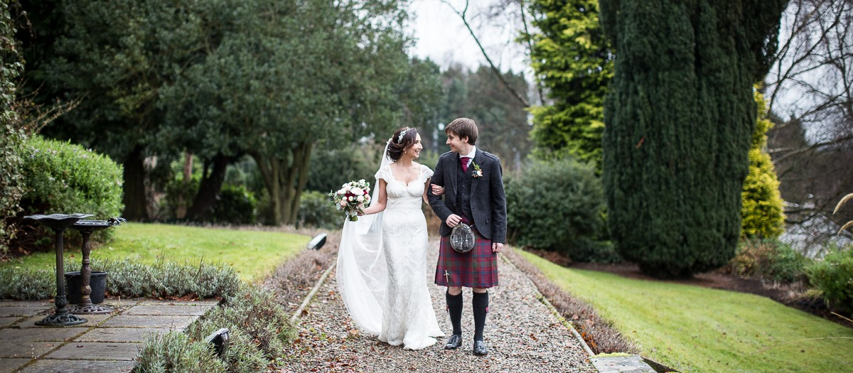 Jess & Jamie's wedding | Lands of Loyal wedding photography | Perthshire photographer