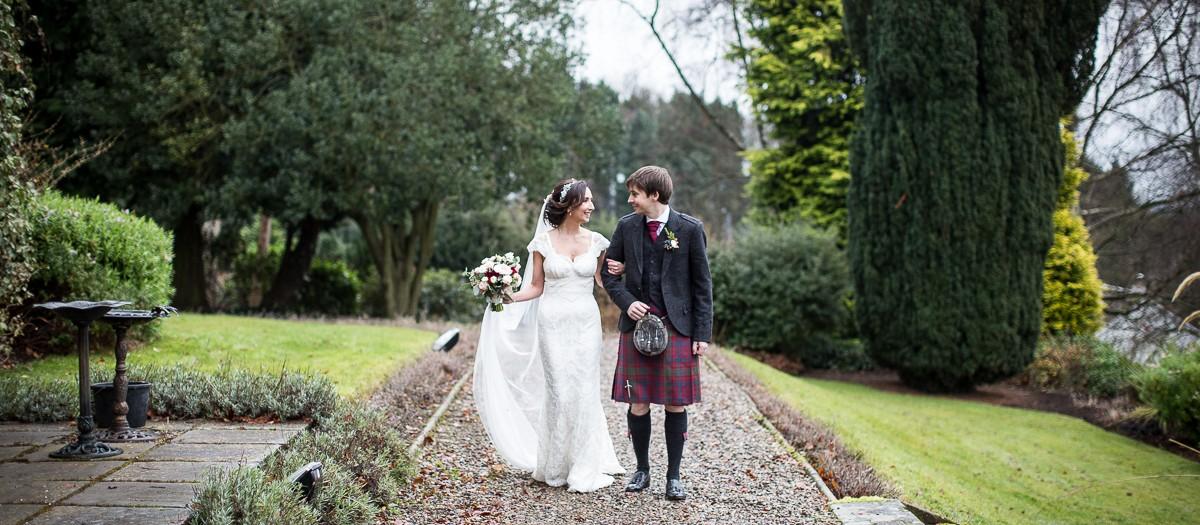 Jess & Jamie's wedding | Lands of Loyal wedding photography | Perthshire photographer